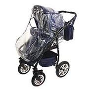 Дождевик для детской коляски «Пегас» универсальный, цвета МИКС фото