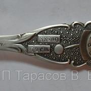 Гравировка на серебряных ложечках фото