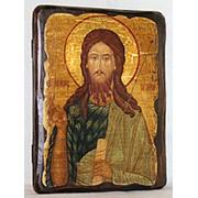 Икона под старину Иоанн Предтече (размер 13*17) фото