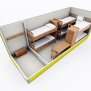 Строительная бытовка Модель ЕВРО 2, 6000*2450мм фото
