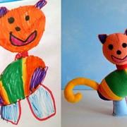 Детские игрушки по рисункам ребенка фото
