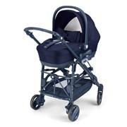 Универсальная коляска 3 в 1 CAM Minu Elite 140 темно-синий 887/T140 фото
