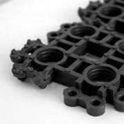 Коврик-решетка грязезащитный 35*53 черный фото