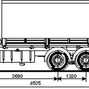Аренда бортового грузовика 6 м.- 10 т фото