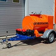 Прицеп-цистерна для перевозки дизельного топлива 500 литров фото