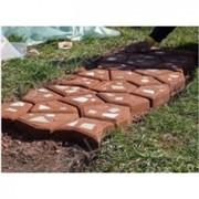 Форма для заливки садовой дорожки Круглые камни (9 камней 60 х 60) фото