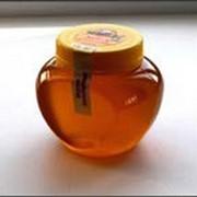 Цветочный мед ПЭТ - банка Сердечко, маленькая 0,4л фото