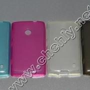 Силиконовый чехол Nokia Lumia 520 фото