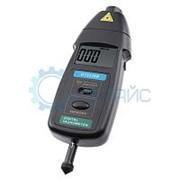 Комбинированный цифровой тахометр SanpoMeter DT2236B бесконтактный, лазерный фототахометр фото