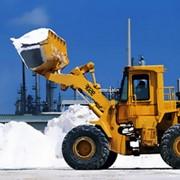 Вывоз снега и мусора фото
