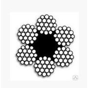 Канат стальной двойной свивки ГОСТ-2668-80 DIN 3060 d=18мм фото