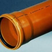 Трубы поливинилхлоридные для наружной канализации фото