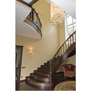 Лестницы из натурального массива фото