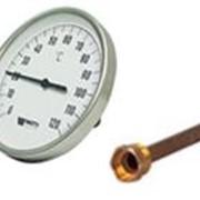 Термометры биметаллические (Watts) фото