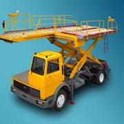 Самоходный погрузчик-контейнеровоз АПК-КБ фото