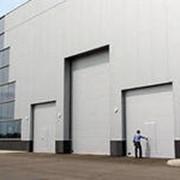 Ворота для производственных помещений фото