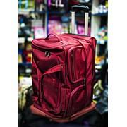 Дорожная сумка на колесах Happypeople 52х34х40см красная фото