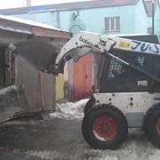 Аренда колесного мини погрузчика бобкета (бобкат, бобкэт) Киев фото
