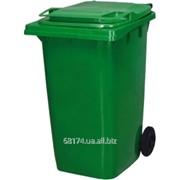 Контейнер для мусора уличный на колесах с крышкой, 240 л. ZG КУ-240 фото