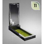 Надгробие вертикальное модель 11 фото