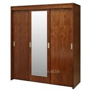 Шкаф-купе для одежды Луксор П475.01 (черешня) фото