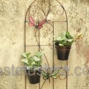 Декоративное подвесное панно с кашпо Райские бабочки BF-23 фото
