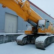 Гусеничный кран немецкой фирмы Liebherr модели LTR 1100 г/п 100 тонн фото