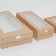 Коробка для кондитерских изделий фото