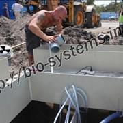 Услуги по строительству канализационных сетей фото