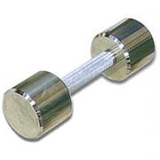Гантель хромированная для фитнеса 6 кг MB-FitM-6 фото