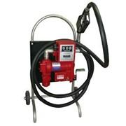 Мини колонка для перекачки бензина и дизельного топлива фото