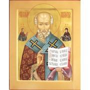 Икона Николая Чудотворца фото