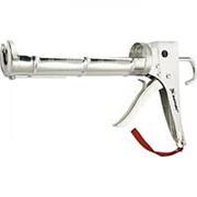 """Matrix Пистолет для герметика, 310 мл, """"полуоткрытый"""", хромированная, зубчатый шток 7 мм Matrix фото"""