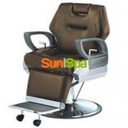 Кресло парикмахерское A100 Коричневое фото