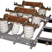 Разъединители внутренней установки РВЗ 10/400 II УХЛ2 фото
