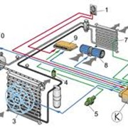Заправка хладагентом автокондиционеров производится на американском оборудовании Snap-on фото