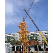Монтаж, демонтаж, сервисное обслуживание башенных кранов. фото