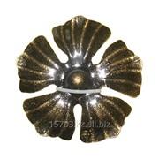 Изделие из металла цветок КУ-1015 d 110, артикул 10749 фото