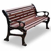 """Скамейка садово-парковая """"Наутилус"""",кресло, 0,6м фото"""