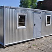 Дачный блок-контейне отделка МДФ/ЛДСП 6*2,4*2,5 фото