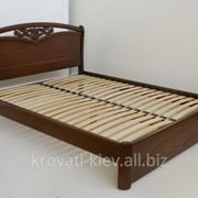 """Двуспальная деревянная кровать """"Анастасия"""" в Виннице фото"""