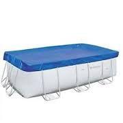 Тент для каркасного бассейна 2.87 см x2.01 см x1.00 см Bestway #58231 фото