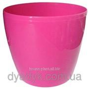 Кашпо Магнолия с подставкой 360*316мм, Розовый фото