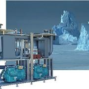 Промышленные компрессорные холодильные установки фотография