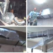 Электромонтажные услуги и жестяные работы по вентиляционным системам фото