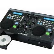 Профессиональная DJ рабочая станция Gemini cdm-500 фото