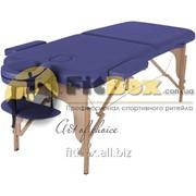 Массажный стол складной Art of choice Mia (синий), art: HQ02DB фото