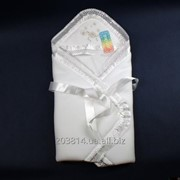 Демисезонный Конверт-одеяло на выписку из роддома и для крещения Anikababy фото