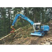 Погрузчики лесные гидравлическиеTEREX|FUCHS MHL 331 фото