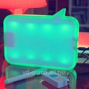 LED доска - ночник для записей с диктофоном фото